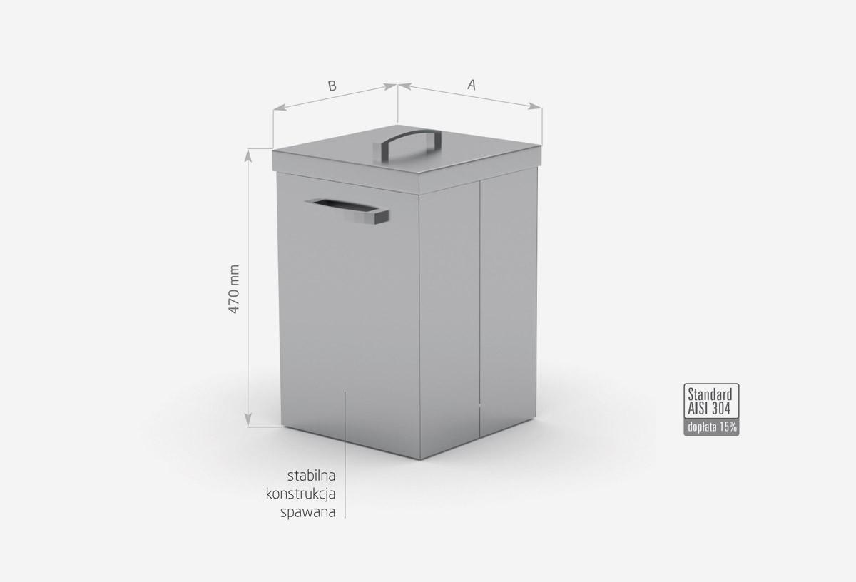 Pojemnik na odpadki - POL-429