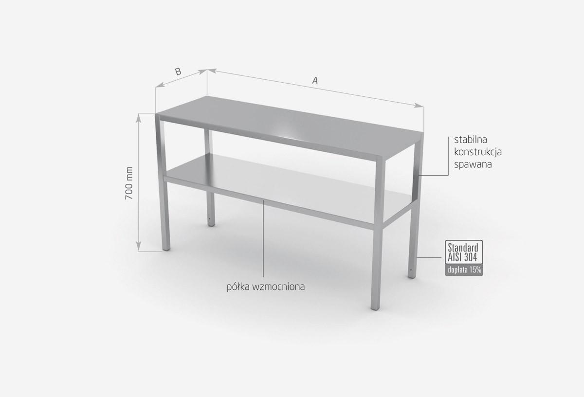 Nadstawka na stół dwupoziomowa - POL-502